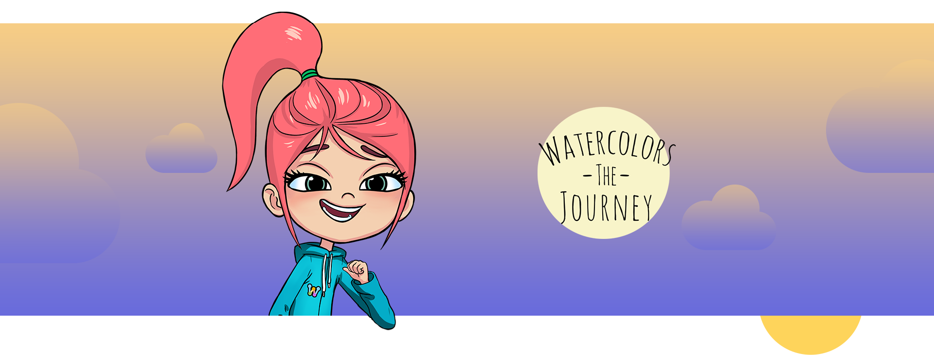 Watercolors the Journey